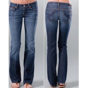 7 For All Mankind Flynt Bootcut Jeans Waist 28